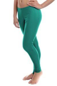 Cotton Leggings Green Colour