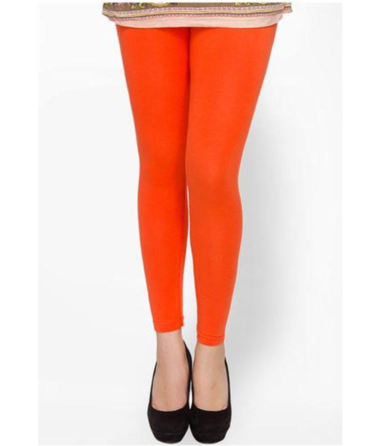 Cotton Leggings Orange