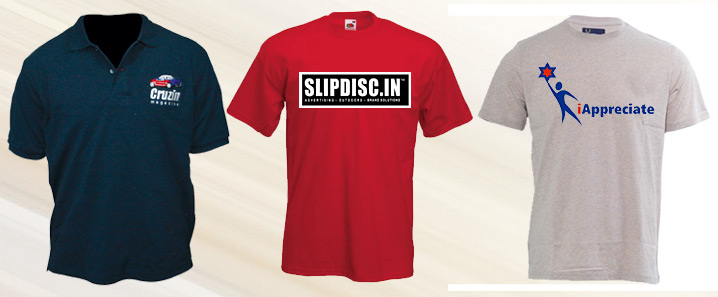 Corporate Promotional T-Shirts with Company Logo in Mumbai ...